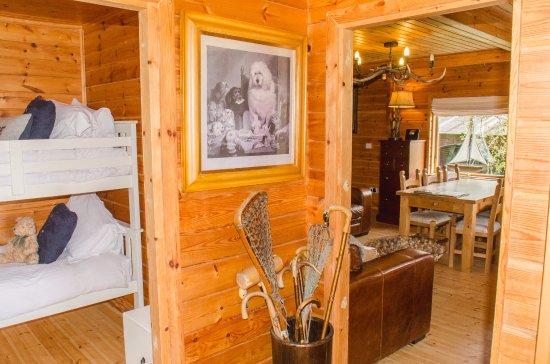 Garstang, UK: Fin Log Cabin