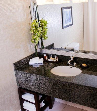Pewaukee, WI: Suite Bathroom