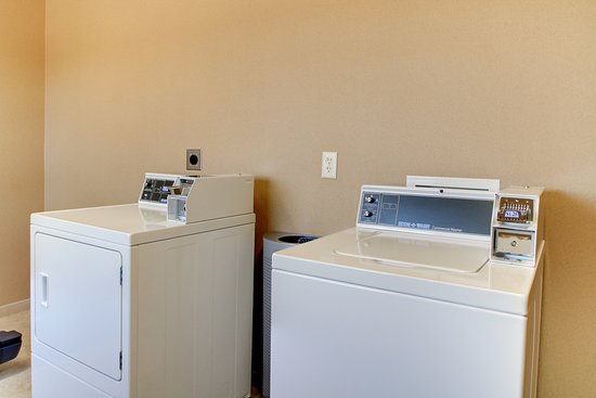 Barron, WI: Onsite Guest Laundry