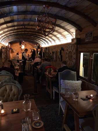 West Bay, UK: quirky restaurant