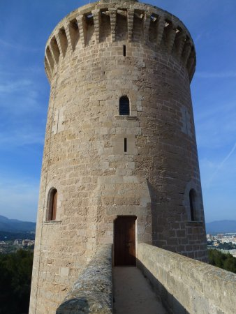 Photo of Tourist Attraction Bellver Castle (Castell de Bellver) at Camilo Jose Cela, Palma de Mallorca, Spain