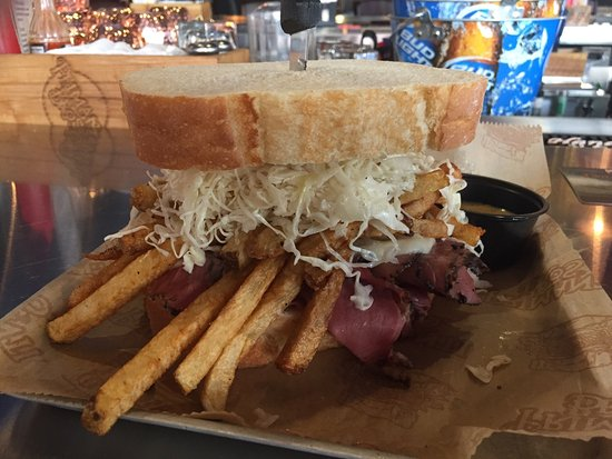 Great For Lunch When Downtown Indianapolis Review Of Primanti Bros In Tripadvisor