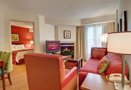 Grandville, MI: Two-Bedroom Suite Living Room
