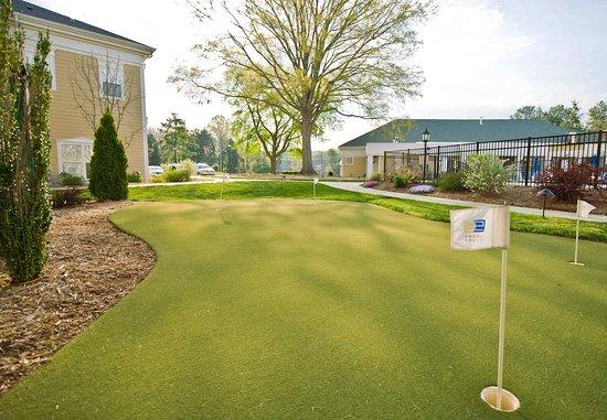 Chapel Hill, Carolina del Norte: Putting Green