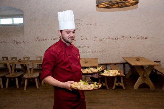 Palmse, Estland: Delicious food and good cooks