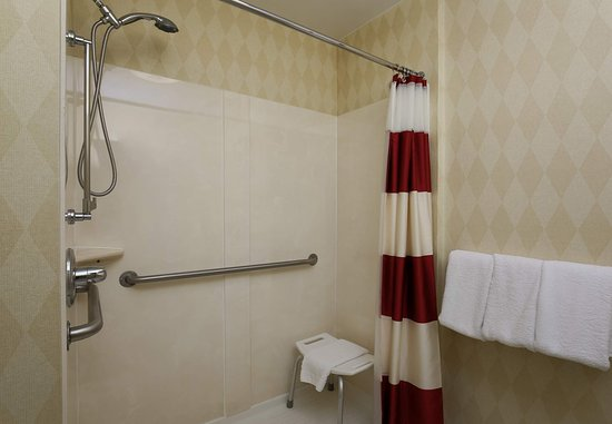 Exton, PA: Accessible Suite Bathroom - Shower