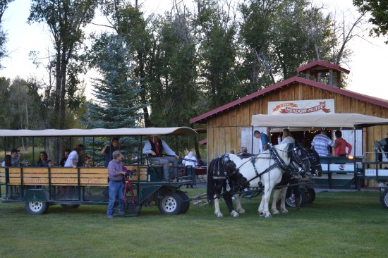 Ririe, ID: Horse-drawn wagon rides