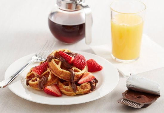 The Inn at Mayo Clinic: Your Perfect Waffle.