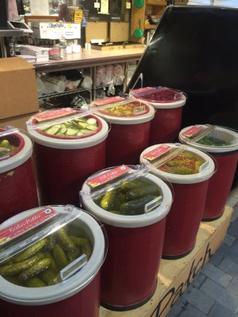 Taste of Philly Food Tour: Pickles, pickles, and more pickles