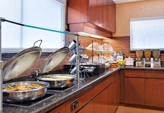 Residence Inn Savannah Midtown: Breakfast Buffet