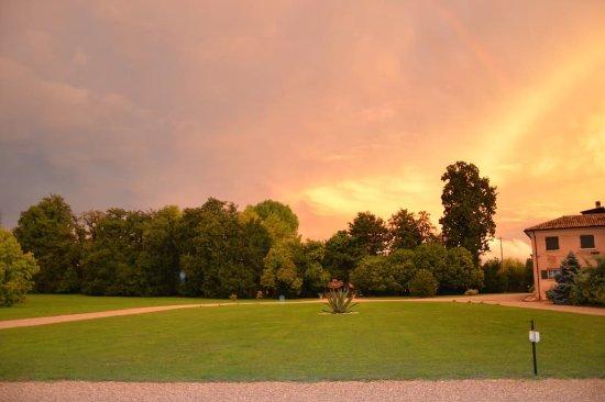 Villorba, Italia: tramonto