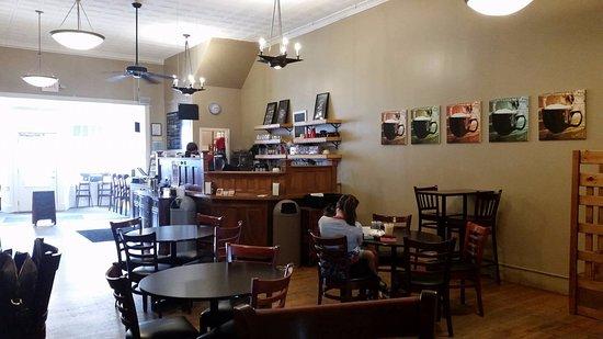 Ιντιπέντενς, Μιζούρι: Inside view ~ Main Street Coffee House