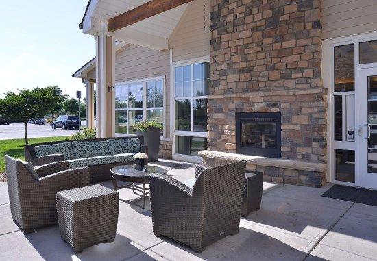 Loveland, CO: Outdoor Patio & Fireplace