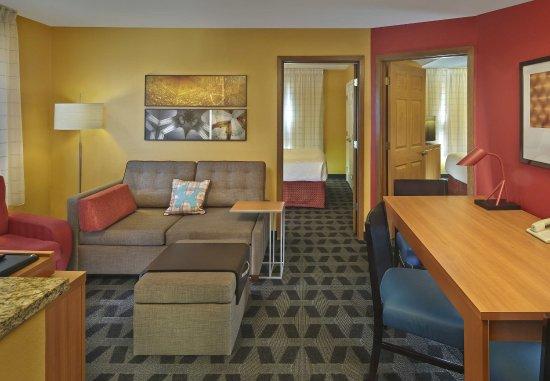 Tewksbury, MA: Two-Bedroom Suite - Living Area