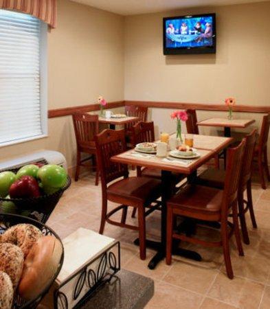 Lombard, Ιλινόις: Breakfast Area