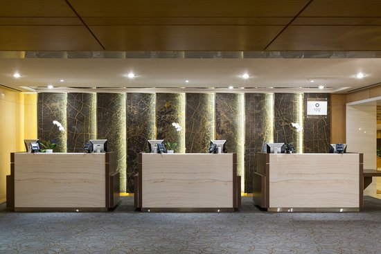 The Westin Bayshore, Vancouver: Front Desk