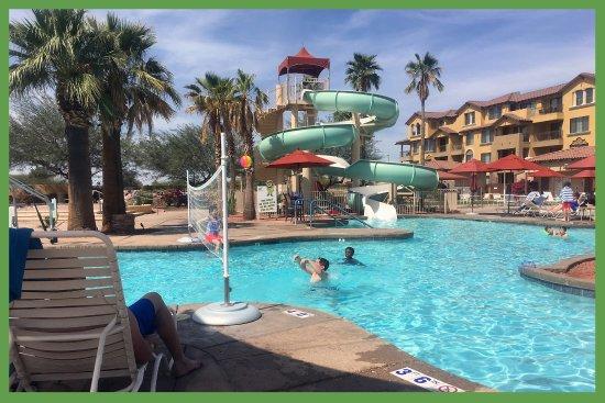 Peoria, AZ: three-story slide