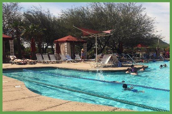 Peoria, AZ: Swim lanes