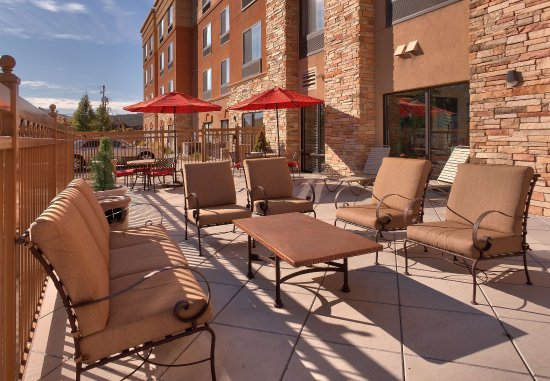 SpringHill Suites Salt Lake City Downtown: Outdoor Patio