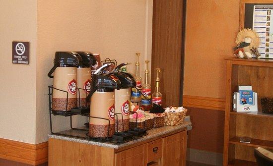 Calumet, MI: Coffee