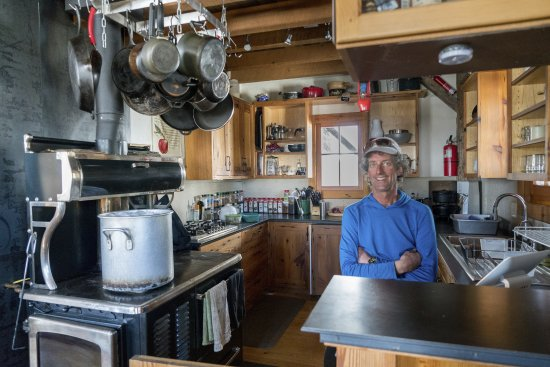 Ophir, CO : Owner and Hut Master Bob