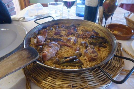 Falset, Spanien: Arroz de campo extraordinario