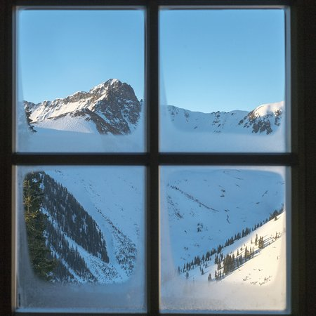 Ophir, CO : Morning: Which way shall we ski?