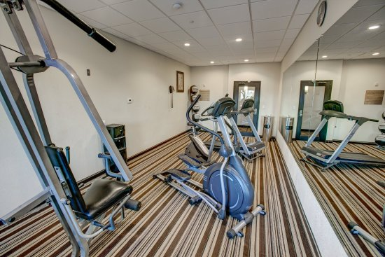 Triadelphia, Virginia Occidental: fitness room