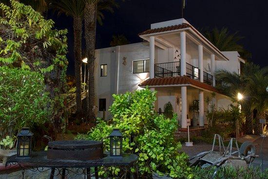 Villas Santo Nino : Night view of second floor apartment