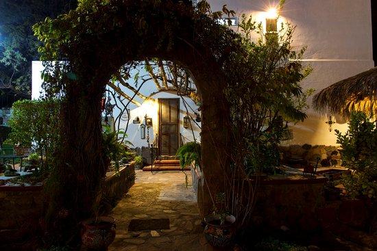 Villas Santo Nino : Part of the gardens