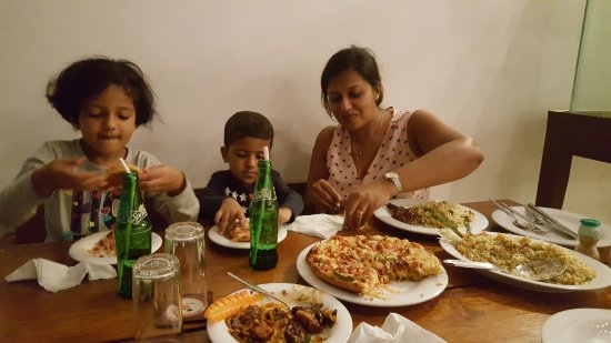 King Coconut Restaurant: beach view restaurant in Negombo, Sri Lanka and a good place for a family dinner out.