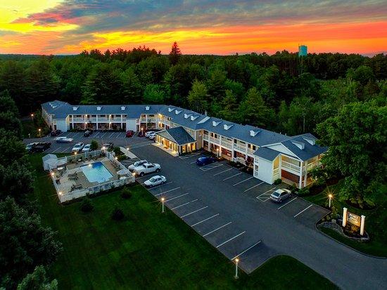 Port Inn Kennebunk Sunset