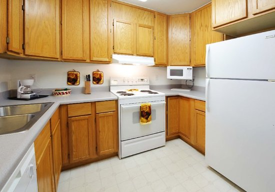 Full Kitchen Picture Of Frontier Suites Airport Hotel Juneau Tripadvisor