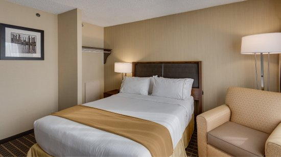 Holiday Inn Express Washington DC SW-Springfield: One Queen Bed Guest Room