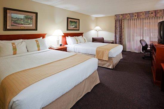 Σεντ Κλάουντ, Μινεσότα: 2 Double Bed guest room with mini refrigerator and WIFI