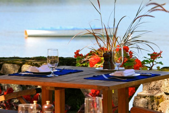 Hotel Quintessence: Terrasse Restaurant