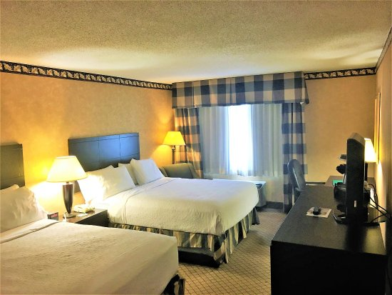 Holiday Inn Oneonta: Double Bed Guest Room