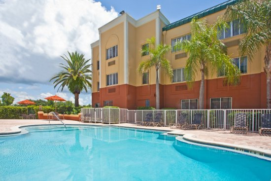 Holiday Inn Express Clearwater East - Icot Center: Swimming Pool