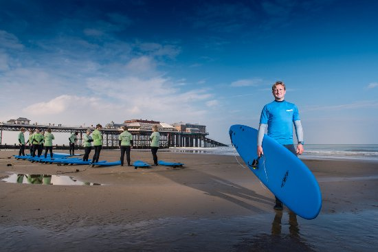 Cromer, UK: Surf lesson instruction