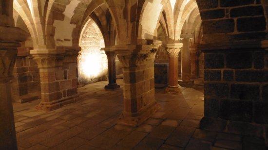 Trebic, Tjekkiet: cripta