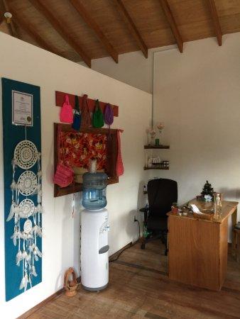 Caye Caulker, Belize: indoors