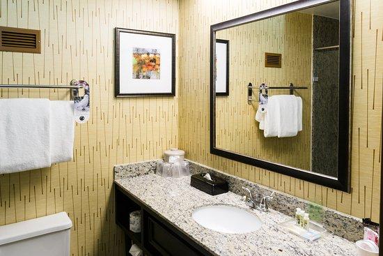 Big Rapids, MI: Granite Shower Guest Bathroom