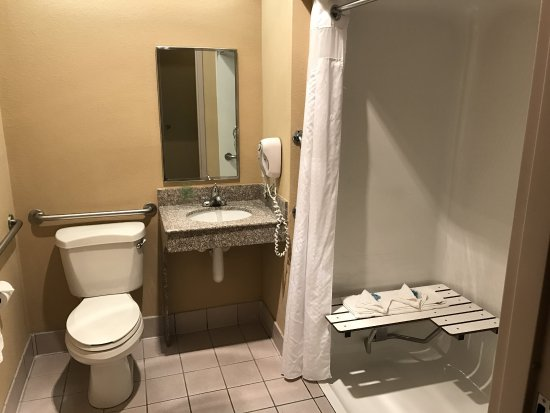 Metropolis, IL: Accessible Bathroom with Roll-in Shower