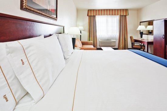 Holiday Inn Express Santa Rosa: King Bed Guest Room