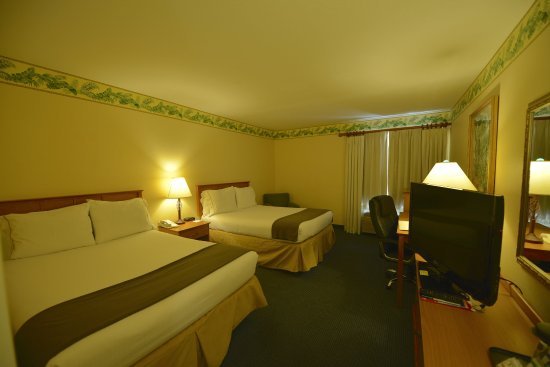 Holiday Inn Express Hotel and Suites Orlando-Lake Buena Vista South: Queen Bed Guest Room