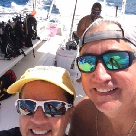 Aqua Marine Dive Center: Cruise back to the dock :)