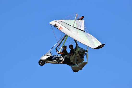 Advance, Caroline du Nord : Air Creation Tanarg with Bionix2 Wing performs!