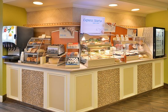 Holiday Inn Express St. Joseph: Breakfast Bar
