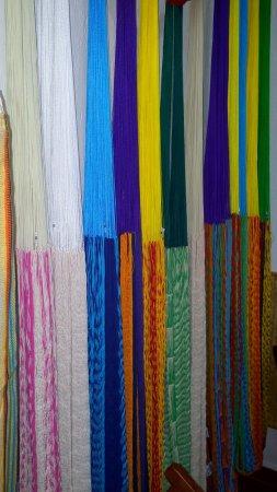 Campeche, Mexico: Hamacas de algodón