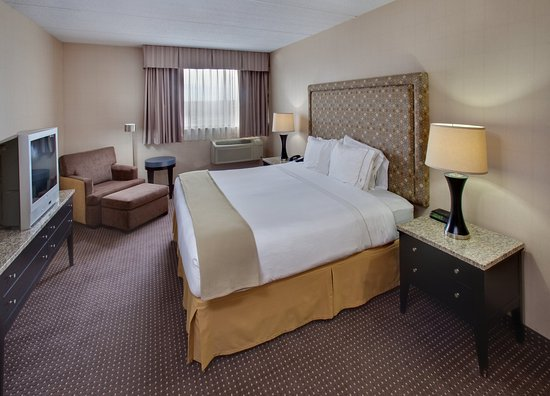 Holiday Inn Express Chicago Palatine: Holiday Inn Express Palatine-Arlington Hts Chicago NW-King room